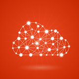 Cloud computing - internet communication network