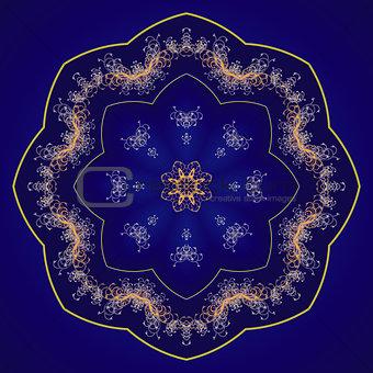 Circular ornament. Mandala