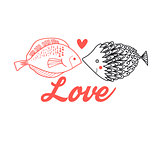 Graphic fish lovers