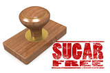 Sugar free wooded seal stamp