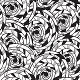 Vector Seamless  Tribal vector pattern