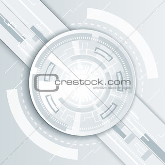 Abstract technology background illustration