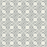 Vector light seamless pattern with interweaving of thin lines.
