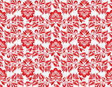 stylized floral seamless pattern