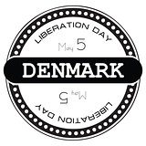 Stamp Liberation Day Denmark