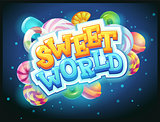 Sweet world GUI game window