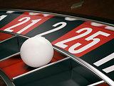 gambling, roulette game