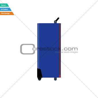 Flat design icon of studio photo light bag