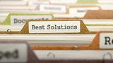 Best Solutions on Business Folder in Catalog.