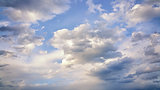 beautiful cloudy sky background