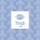 Third Eye Yoga Studio Design Card
