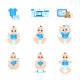 Baby Diaper Changing Sequence