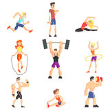 Gym People Set