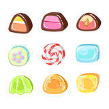 Sweets Colorful Set