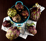 Perfect Raw Artichokes