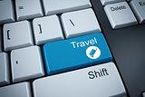 3D rendering of travel keyboard