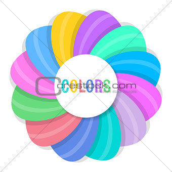 Abstract vector creative background