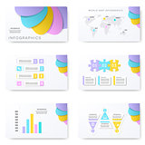 Infographic template for presentation slides
