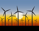 wind farms generators for electricity
