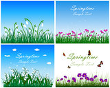 Springtime Meadow Set