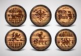 set of covers casks