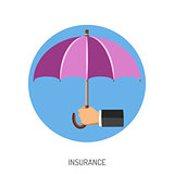 Insurance Flat Icon