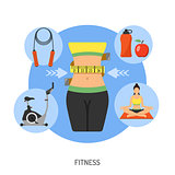 Healthy Lifestyle and Fitness Concept