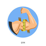 Gym and Fitness Concept