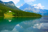 Herbert Lake. Yoho National park.