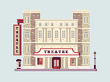 Theater building design flat