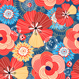 Flower bright pattern