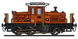 Old diesel locotractor