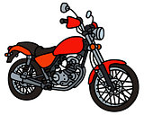 Red light motorcycle