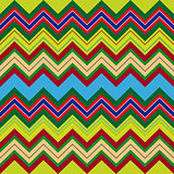 Multicolor zigzag seamless pattern