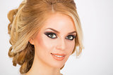 Bridal make up and hairstyle