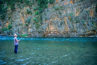 Fishing the Beautiful Blackfoot River
