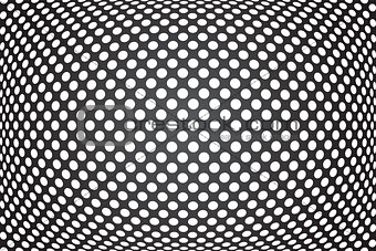 Abstract convex background.