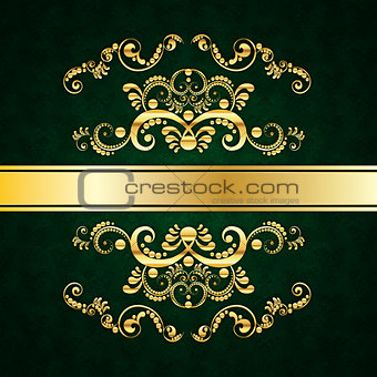 Green Invitation Card Design