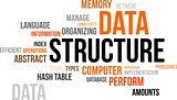 word cloud - data structure