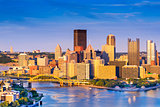 Pittsburgh Pennsylvania Cityscape