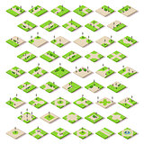 Game Set 14 Building Isometric