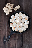 Smores Dip and Graham Crackers