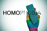 deleting the word homophobia