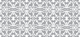 Vector seamless wallpaper. Monochrome abstract pattern