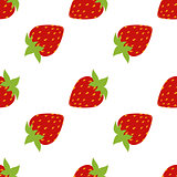 seamless of strawberries