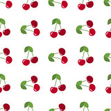 red cherries seamless