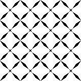 black mosaic seamless