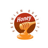 vector honey logo