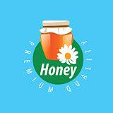 vector honey logo