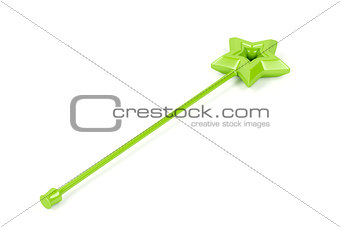 Green magic wand